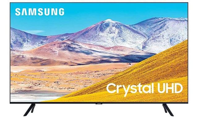 SAMSUNG 50-inch Crystal 4K UHD HDR Smart TV