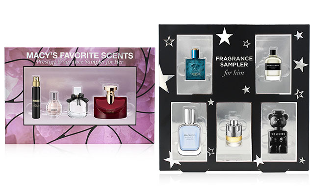 macy's fragrance samplers