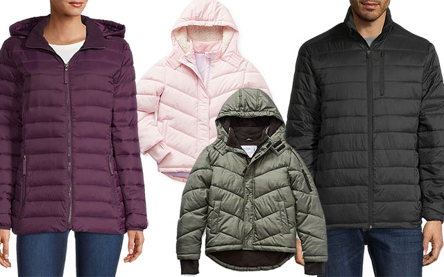 family puffer jackets