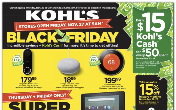 The Best Deals from the Kohls Black Friday Ad