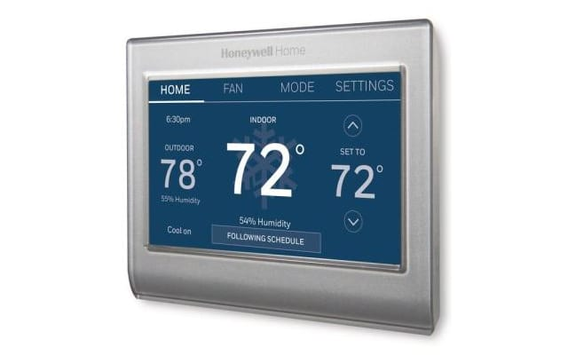 Honeywell Smart Color Thermostat at Home Depot