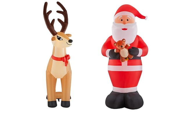 christmas inflatable decor
