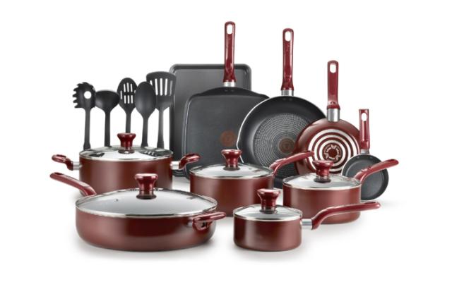 set peralatan masak t-fal
