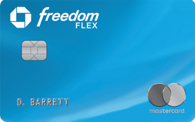 the freedom flex MasterCard