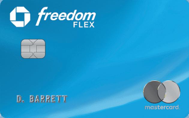 The freedom flex MasterCard