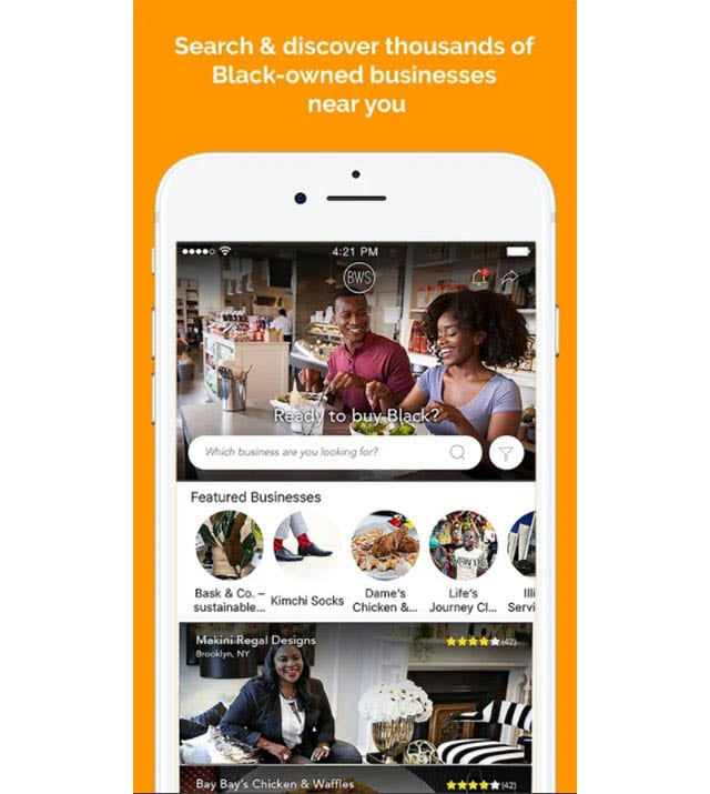 black wall street app search