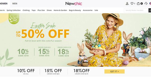 new chic website