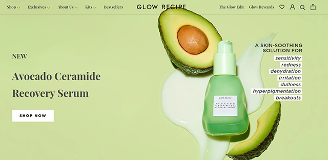 glow recipe website