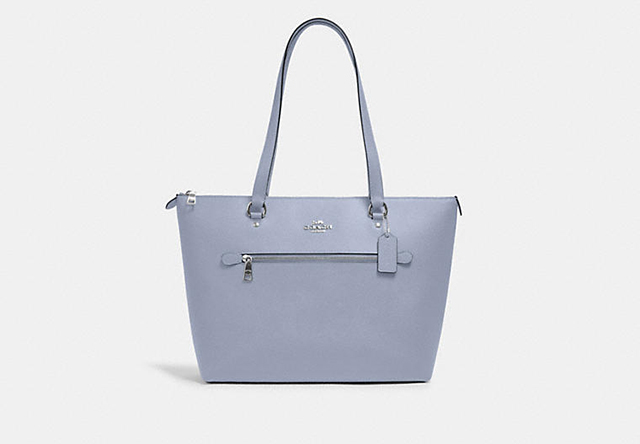coach outlet blue tote